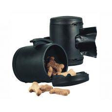 Flexi Multi Box zásobník, čierny + vrecúška na odpad