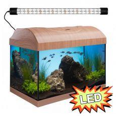 Akvárium STARTUP 40 LED Expert 6W - ROVNÉ - BUK