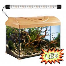Akvárium STARTUP 50 LED EXPERT 10W - ROVNÉ - BUK