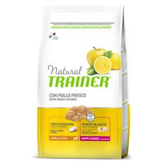 Trainer Natural Small and Toy, Puppy & Junior, kura 2kg