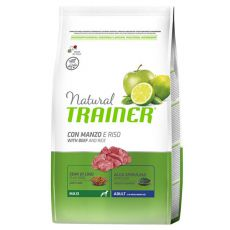 Trainer Natural Adult Maxi, hovädzie a ryža 12kg