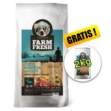 Farm Fresh Scandinavian Reindeer and Rice Weight Control & Senior 20 + 2kg GRATIS