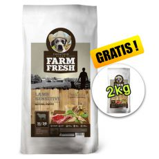 Farm Fresh Lamb Sensitive Active/Puppy 15 + 2kg GRATIS