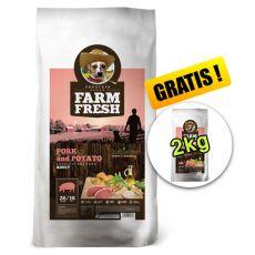Farm Fresh Pork and Potato 15 + 2kg GRATIS
