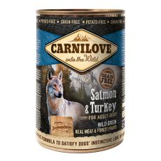 BRIT Carnilove Wild Meat Salmon & Turkey 400g