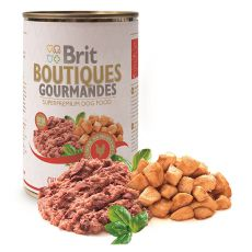 Brit Boutiques Gourmandes Chicken Bits & Pate 400g