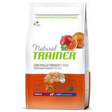 Trainer Natural Adult Medium, kura a ryža 12kg