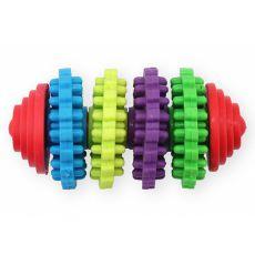 TPR Dental hračka pre psa s výstupkami, 8cm
