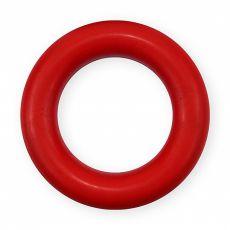 Koleso pre psa z tvrdej gumy - červené, 9cm
