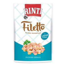 Kapsička RINTI Filetto kura + losos, 100g