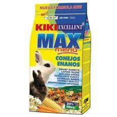 KIKI EXCELLENT MAX MENU - krmivo pre trpasličie králiky 1kg