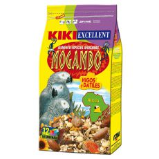 KIKI MOGAMBO - krmivo pre africké papagáje 800g