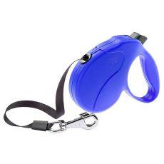 Vodítko Amigo Easy Medium do 25kg - 5m popruh, modré
