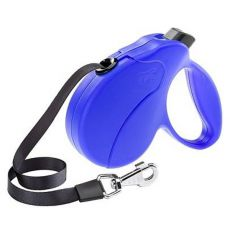 Vodítko Amigo Easy Small do 15kg - 5m popruh, modré