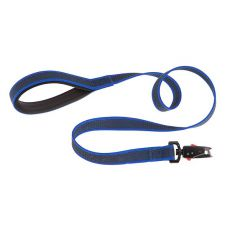 Vodítko pre psa Daytona nylonové, modré - 1,2 m / 20 mm