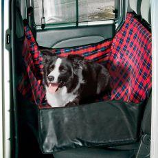 Poťah do auta pre psy - 140 x 60 x 50 cm