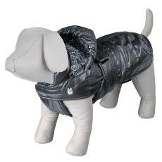 Zimný kabát Trixie Chianti šedý, M 45 cm