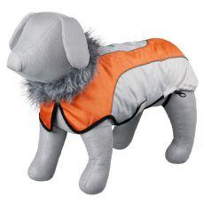 Kabát Trixie Laval béžovo oranžový, M 45 cm