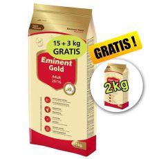 EMINENT GOLD Adult 15kg + 3kg + 2kg GRATIS