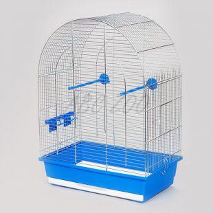 Klietka pre papagaja LUSI II chrom - 45 x 28 x 63 cm