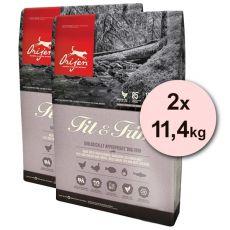 Orijen FIT & TRIM 2 x 11,4kg