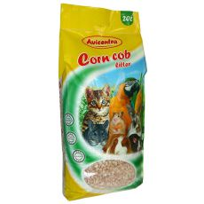 Kukuričná podstielka Corn Cob Litter, 20 L - hrubá
