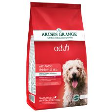 ARDEN GRANGE Adult with fresh chicken & rice, 12 kg