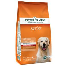 ARDEN GRANGE Senior with fresh chicken & rice, 12 kg