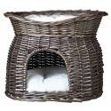 Pelech pre psy a mačky, prútená jaskyňa - GREY