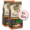 Primordial GF ADULT - kura a losos 2 x 12 kg