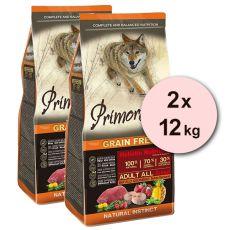 Primordial GF ADULT - byvol a makrela 2 x 12 kg
