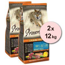 Primordial GF ADULT - kačka a pstruh 2 x 12 kg