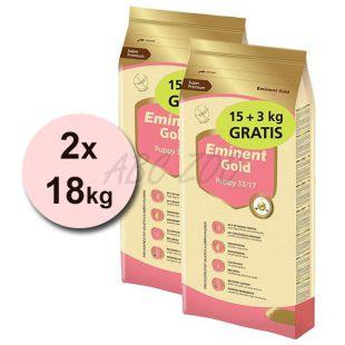 EMINENT GOLD Puppy 2 x 15 kg + 6 kg GRATIS