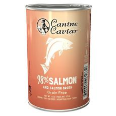 Konzerva Canine Caviar SALMON Grain Free 375 g