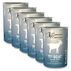Konzerva Canine Caviar GOAT Grain Free 6 x 375 g