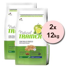 Trainer Natural Adult Maxi, kura 2 x 12 kg