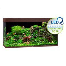 Akvárium JUWEL Rio LED 350 - tmavo hnedé