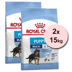 Royal Canin Maxi Puppy granule pre veľké šteňatá 2 x 15 kg