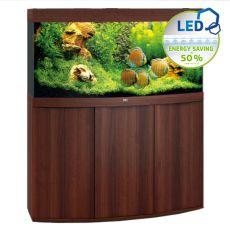 Set JUWEL akvárium Vision LED 260 tmavo hnedý + skrinka