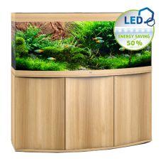 Set JUWEL akvárium Vision LED 450 svetlo hnedý + skrinka