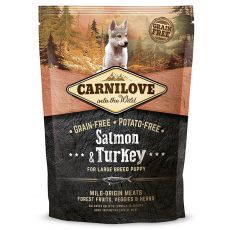 Brit CARNILOVE Salmon & Turkey Large Breed Puppies 1,5 kg