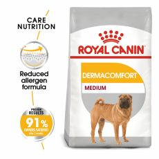 ROYAL CANIN Medium Dermacomfort granule pre stredné psy s problémami s kožou 3 kg