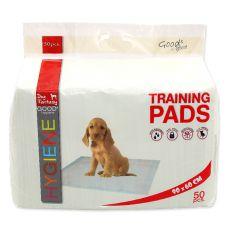 Výcvikové podložky pre psy 90 x 60 cm, 50 ks