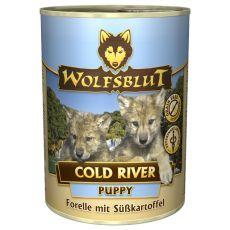 Konzerva WOLFSBLUT Cold River PUPPY, 395 g