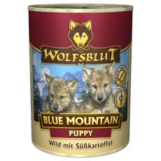 Konzerva WOLFSBLUT Blue Mountain PUPPY, 395 g