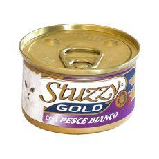 Konzerva STUZZY Gold - biela ryba, 85g