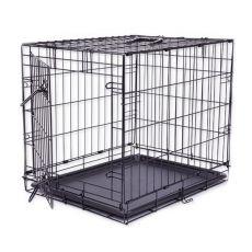 Klietka Dog Cage Black Lux, S - 61,5 x 42,5 x 50 cm