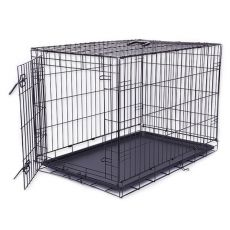 Klietka Dog Cage Black Lux, XL - 107,5 x 74,5 x 80,5 cm