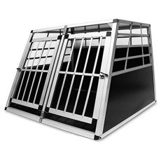 Hliníková prepravka pre psy do auta - 104 x 91 x 69,5 cm
