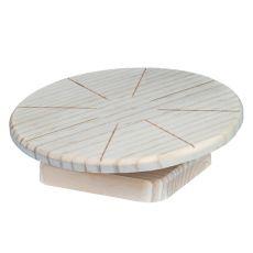 Drevený disk na behanie pre malé hlodavce, 20 cm